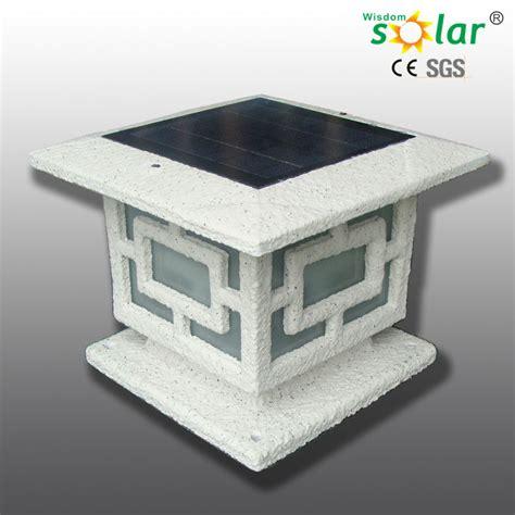 outdoor led solar powered pillar lights jr 3018 buy