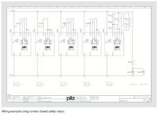 Pilz Automation Safety Wiring Contact Electronic