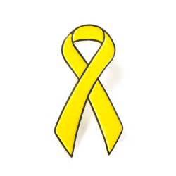 Yellow Ribbon Childhood Cancer Awareness