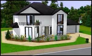 sims 3 plan maison moderne studio design gallery best design