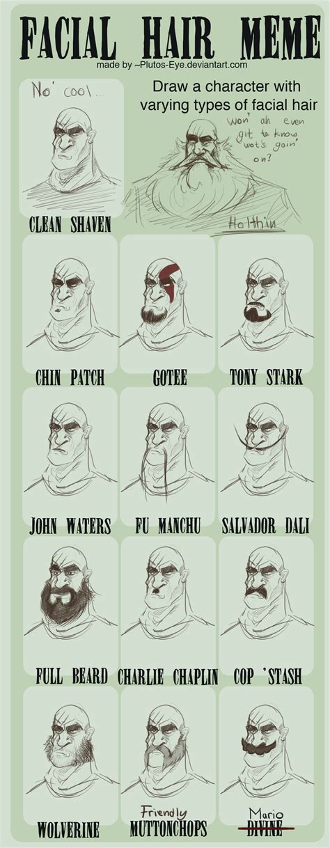 Facial Hair Meme - facial hair meme holthin by ho9 ve on deviantart