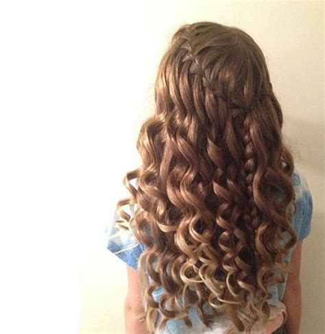 Braided And Curled Hairstyles by 4 Braid Hairstyles Step By Step For Curly Hair 12
