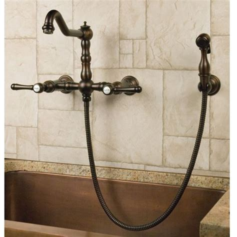 laundry room sink faucet with sprayer delilah wall mount faucet with side spray lever handles