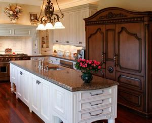 Custom Kitchen Islands That Look Like Furniture by Antique Kitchens Pictures And Design Ideas