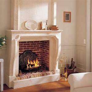 Cheminee Exterieur Bois : cheminee decorative brisach chemin es d co d 39 int rieur ~ Premium-room.com Idées de Décoration
