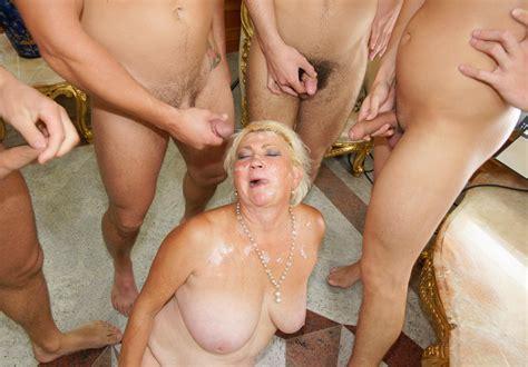 Mature Sex Grandma Gangbang