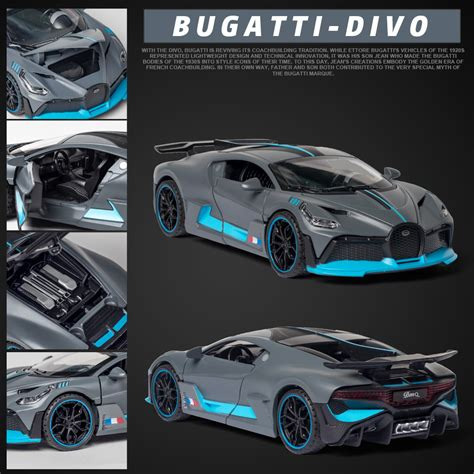 The chiron's nearly $3 million price tag matches its extreme persona, but even for that kind of money it's almost a performance bargain. 1:32 Simulation Bugatti Chiron Diecast Alloy Cars Alloy ...
