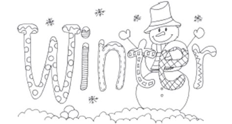 winter season coloring pages winter coloring pages