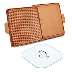 copper chef   grill  griddle
