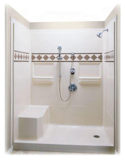 shower stalls  seats built     remodeler