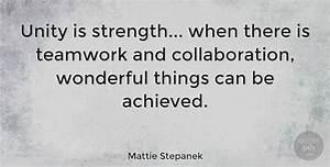 Mattie Stepanek... Strength And Teamwork Quotes