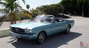 Ford Mustang 1964 : 1964 1 2 ford mustang convertible turquoise metallic with black interior v8 ~ Medecine-chirurgie-esthetiques.com Avis de Voitures