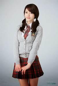 Cute Korean Girls High School