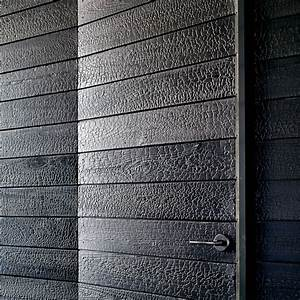 Shou Sugi Ban : japanese charred wood siding shou sugi ban cypress house ~ Zukunftsfamilie.com Idées de Décoration