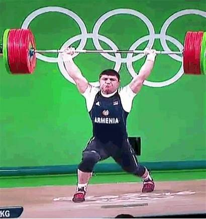 Elbow Snap Olympics Olympic Weightlifter Lift Scale