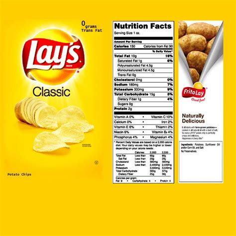 lays crips bag template printables pinterest