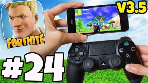 fortnite   controller  mobile gameplay  hack