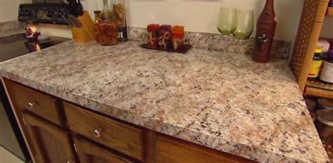 How To Paint Granite Countertops how to apply faux granite kitchen countertop paint today