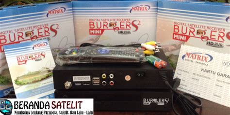 Harga Matrix S2 fitur dan spesifikasi receiver matrix burger s2 mini hd