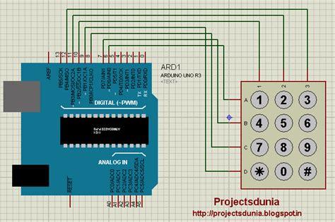 interface  keypad  arduino projectsdunia
