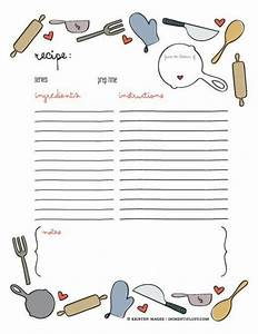 25 best ideas about cookbook template on pinterest With free online cookbook template