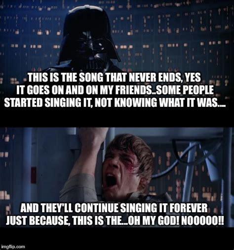 This Is The End Meme Generator - star wars no meme imgflip