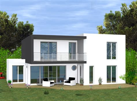 uac with maison a construire moderne