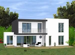 Modele Villa Contemporaine