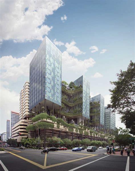 vertical park hotel singapore building  architect