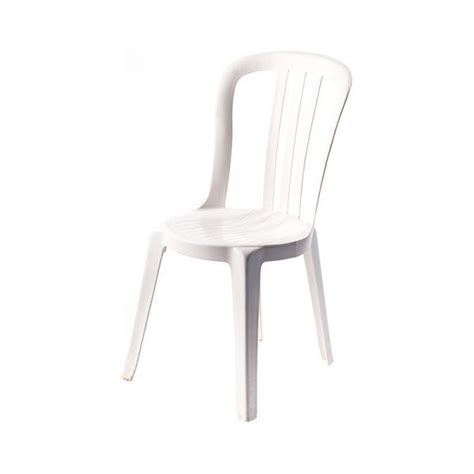 garden bistro chair no arms catering equipment