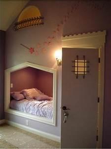 Kinderbett Unter Dachschräge : 20 komfortable jugendzimmer mit dachschr ge gestalten ~ Michelbontemps.com Haus und Dekorationen