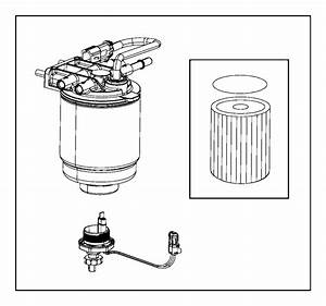2016 Ram 2500 Filter Kit  Fuel  Water Separator  Extreme