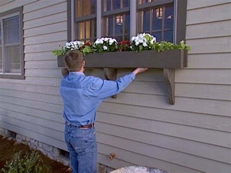 window sill planter how to build a window box planter how tos diy