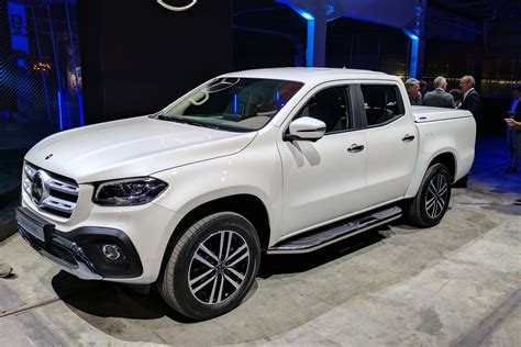 New Mercedes X-class Pick-up Truck Unveiled