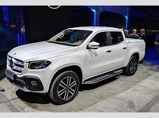 New Mercedes XClass pickup truck unveiled pictures