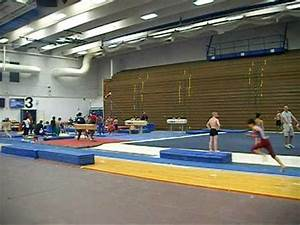 Men Gymnastics training at the Olympic training center in ...