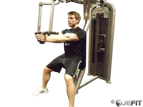 pec deck machine flyes machine fly exercise database jefit best android and