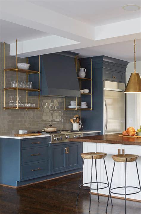 black kitchen cabinets images 23 gorgeous blue kitchen cabinet ideas kitchens 4695