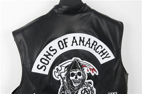 Sons Of Anarchy Motorcycle Club Vest Faux Leather