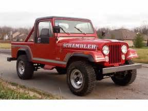 jeep 1985 for sale 1985 jeep cj8 scrambler for sale classiccars com cc 926395