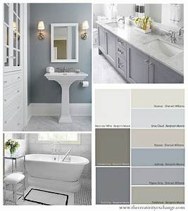 bathroom color schemes on pinterest balinese bathroom With kitchen colors with white cabinets with canvas bathroom wall art