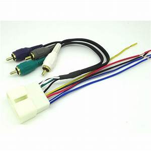 Car Stereo Radio Replacement Wiring Harness Amp