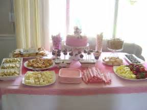 table setup   baby shower saturday june