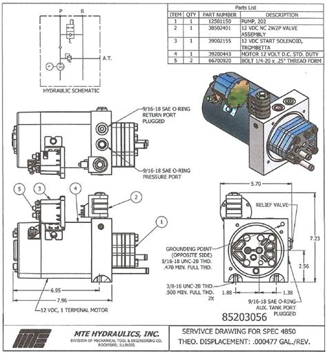 Hitch Snow Plow Wiring Diagram Power by 12 Volt Hydraulic Allthingsoneplace