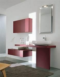 Idée Meuble Salle De Bain : id e meuble de salle de bain rose the blog d co ~ Dailycaller-alerts.com Idées de Décoration