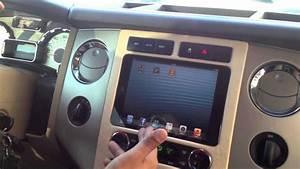 2008 Ford Expedition Ipad Mini Custom Install