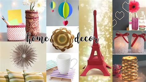 Easy Diy Home Decor Craft Projects  Furniture Design For