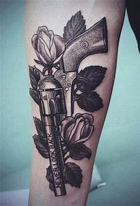 Gun Tattoos for Men - Ideas and Inspiration for Guys