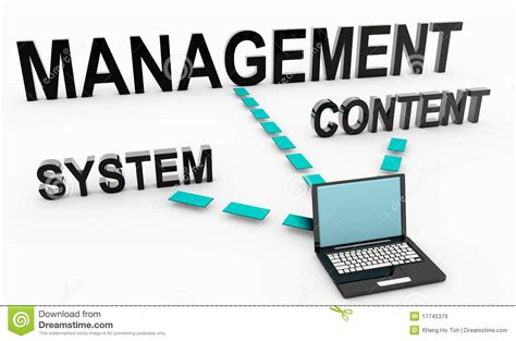 content management system royalty  stock images