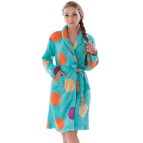 robe de chambre hiver peignoir femme chaud